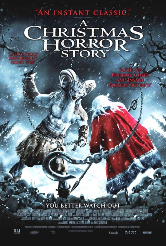 A Christmas Horror Story is just one of the films for this year's Toronto After Dark Film Festival.