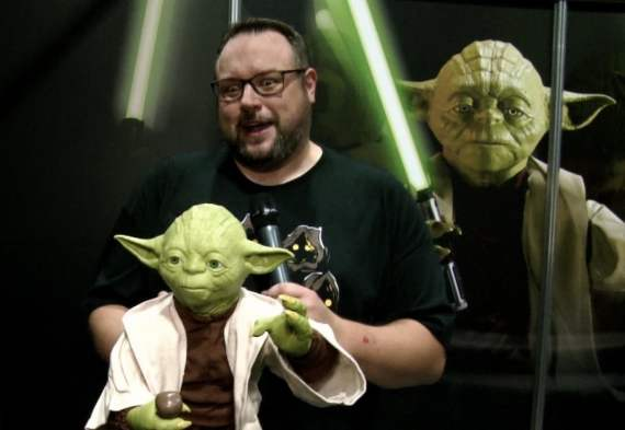 The force was strong with Green when he met Legendary Yoda!