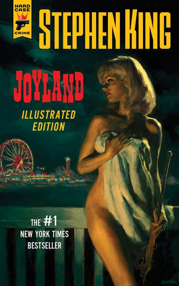 Joyland: The Illustrated Edition is available now through Hard Case Crime.