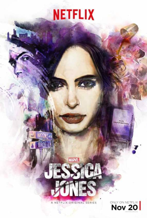 Jessica Jones hits Netflix on Friday, November 20th.
