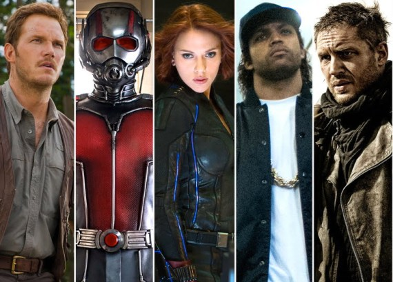 Did any of these films make Team Geek Hard's picks for the Best of 2015? Find out this Friday!