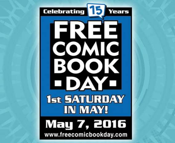 Take part in FCBD 2016 and support your local comic shop.