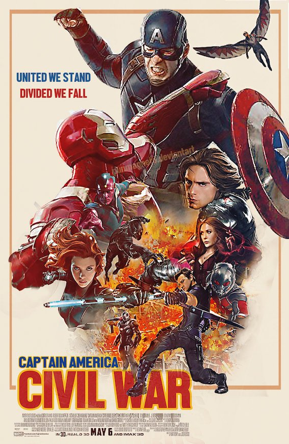 Will Civil War be a battle to get through? Find out this Friday.