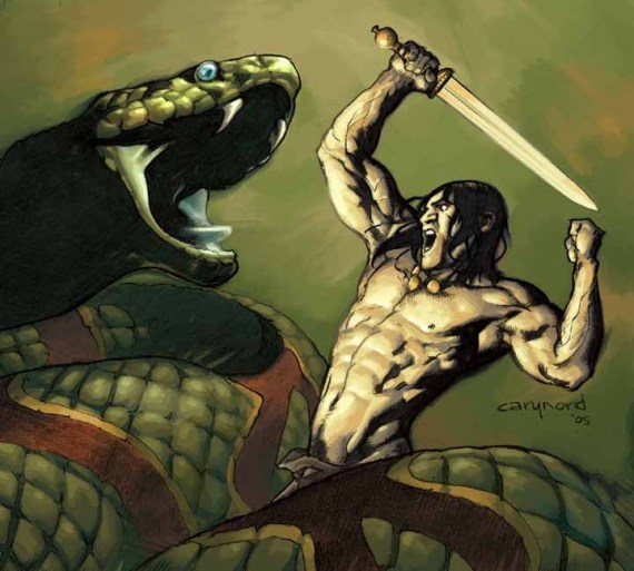 Andrew and Gavin take a look back on Kurt Busiek and Cary Nord's run on Conan at Dark Horse.