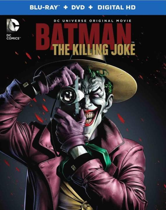 Batman: The Killing Joke is now available on DVD and Blu-ray.