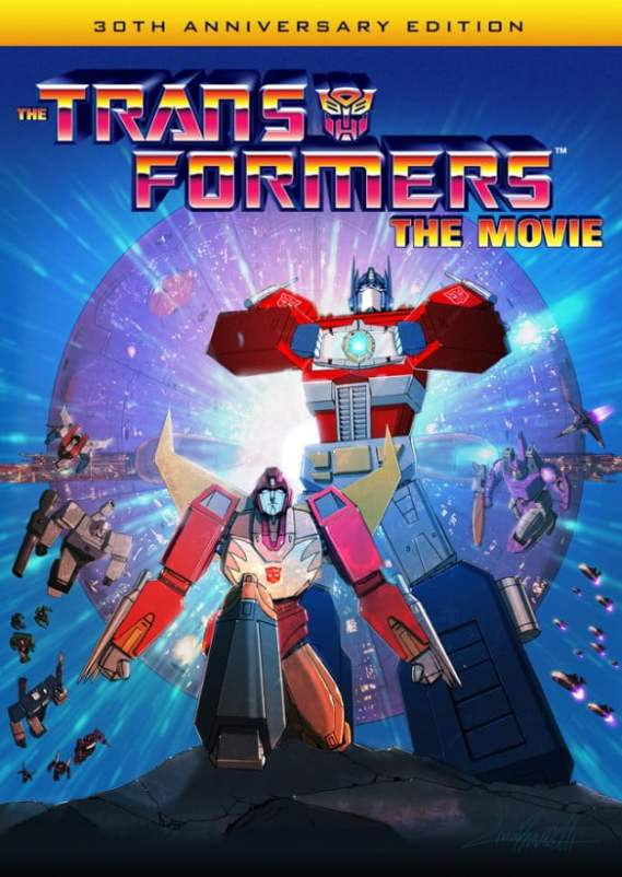 Transformers the Movie 30th Anniversary Blu-Ray is more than meets the eye.