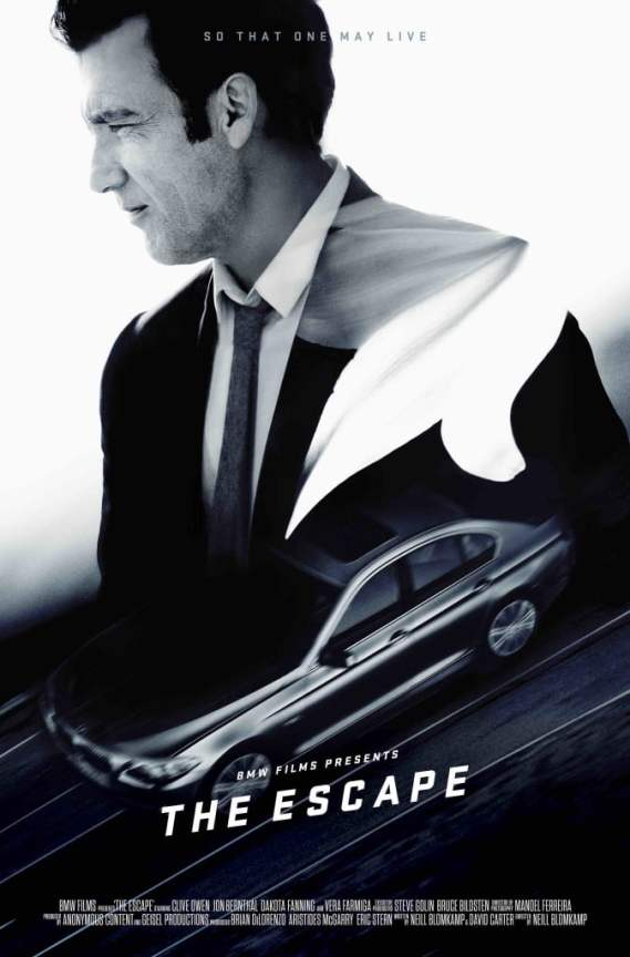"""Clive Owen returns as """"The Driver"""" in BMW Films' The Escape."""