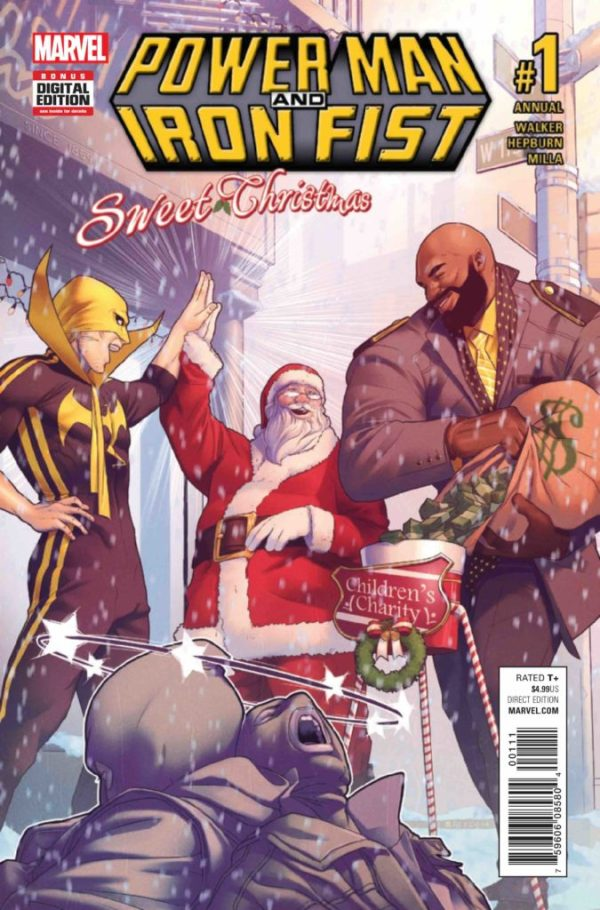 Power Man and Iron Fist: Sweet Christmas Annual #1
