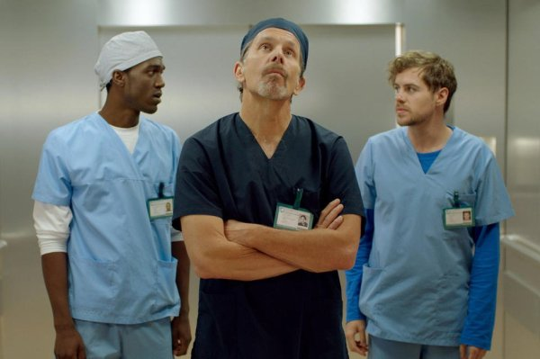 Gary Cole delivering a classic Gary Cole performance.