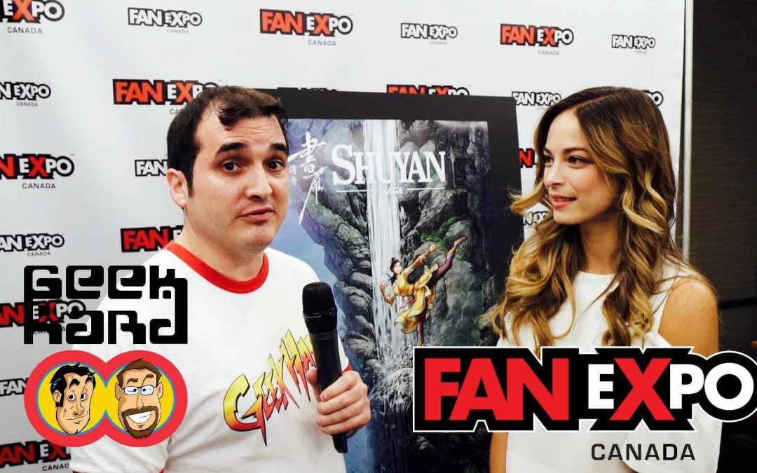 Geek Hard @ Fan Expo Canada 2017: Part 1 with Kristen Kreuk, Wes Chatham & More!