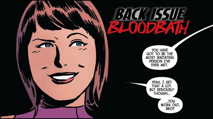 Back Issue Bloodbath Episode 107: Hawkeye by Kelly Thompson and Leonardo Romero