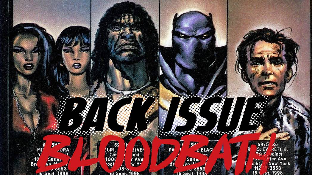 Back Issue Bloodbath Episode 121: Black Panther by Christopher Priest