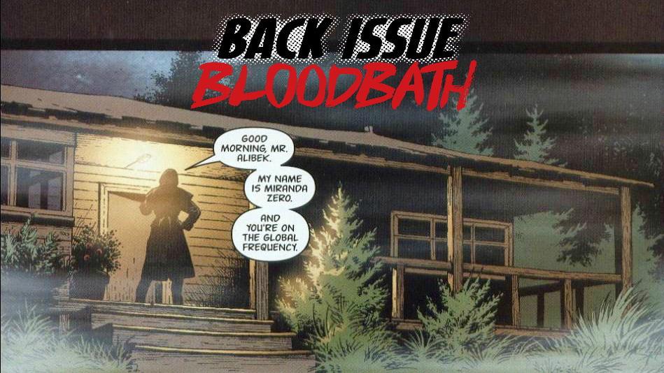 Back Issue Bloodbath Episode 132: Global Frequency by Warren Ellis