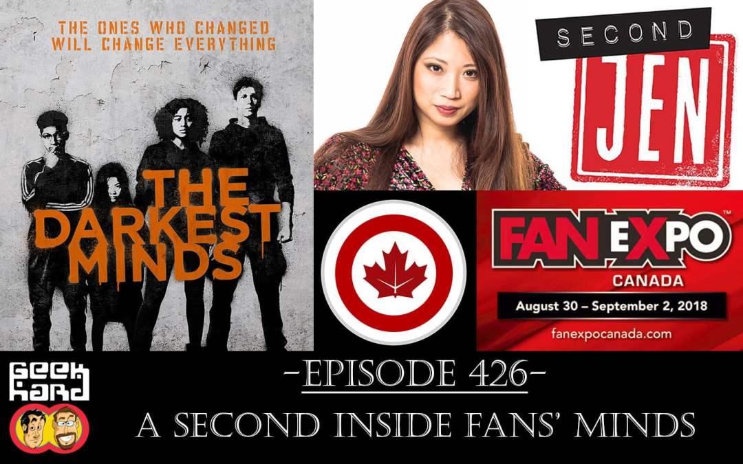 Geek Hard: Episode 426 – A Second Inside Fans' Minds