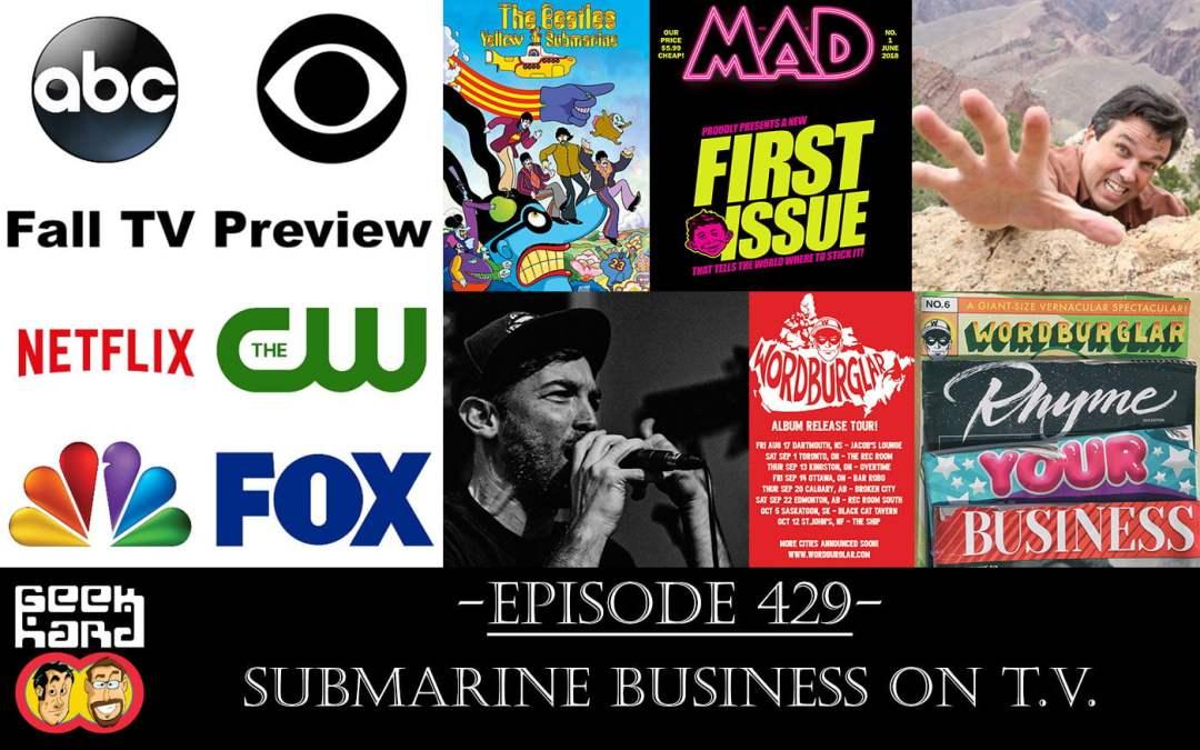 Geek Hard: Episode 429 - Submarine Business on T V  - Geek Hard