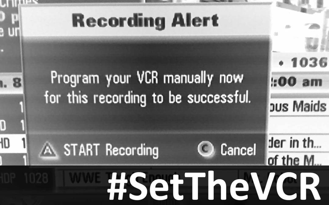#SetTheVCR for the Week of March 24th