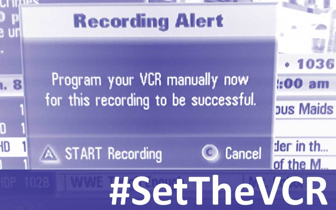 #SetTheVCR for the Week of December 16, 2018
