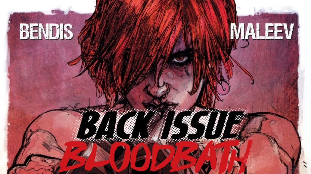 Back Issue Bloodbath Episode 168: Scarlet by Bendis and Maleev