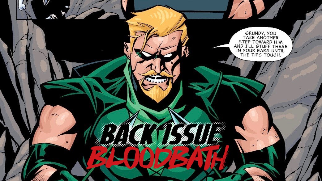 Back Issue Bloodbath Episode 190: Green Arrow – The Archer's Quest