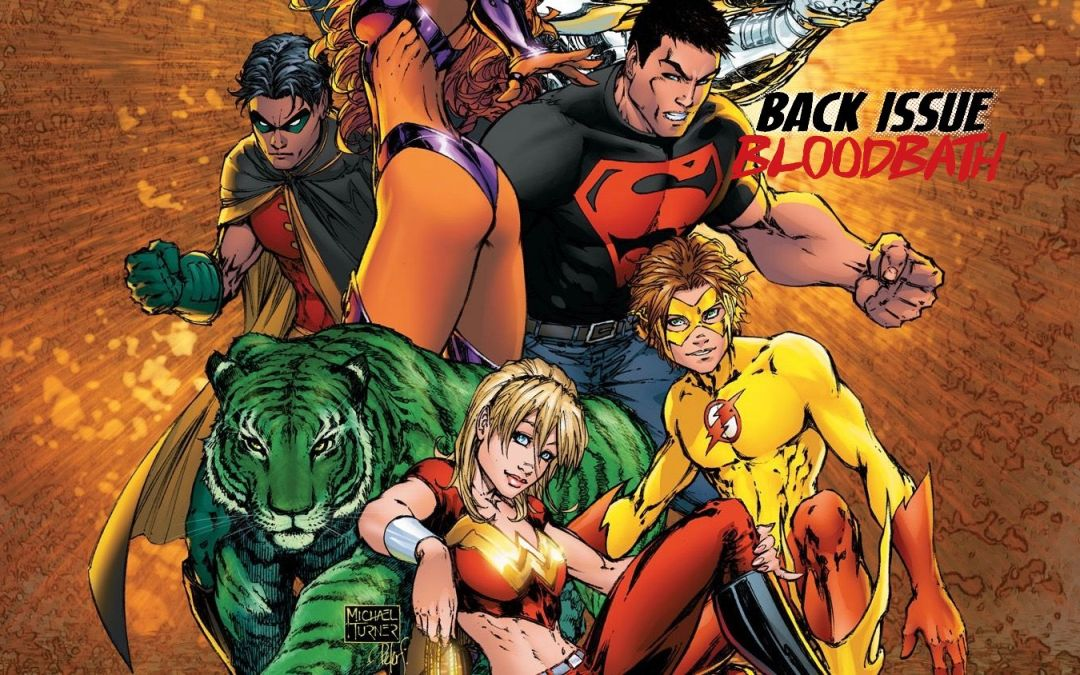 Back Issue Bloodbath Episode 237: Teen Titans (A Kid's Game)