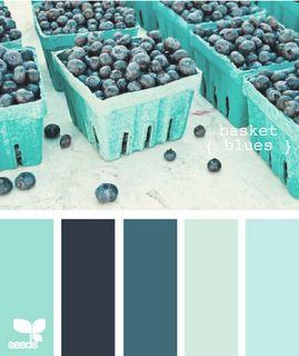 colour palette: basket blues