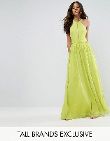 Tall Plunge Front Maxi Dress
