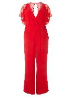 Little Mistress Red Jumpsuit