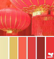 Colour Palette - Lanterns