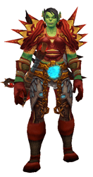 The Storm is Calling Transmog Set - Front View Sheathed