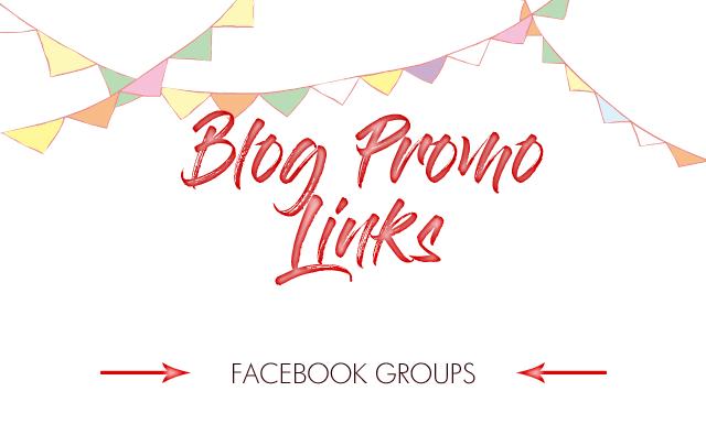 Blog Promo Links - Facebook Groups