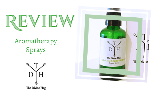 The Divine Hag - Aromatherapy Sprays Review
