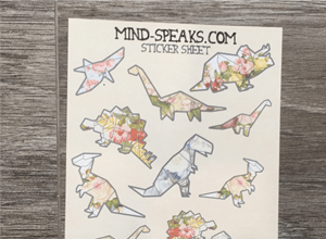 Interview with Designer Mija - Origami Dinosaur Stickers