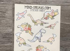 Interview with Designer Mija - Origami Dinosaur Stickers