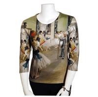 Degas Ballet Lessons Art Shirt from Art Gifts.com