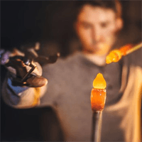 One Day Glassblowing Lesson For One from Not on the High Street