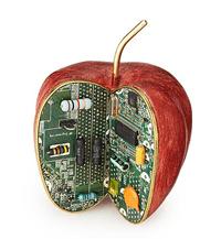 Apple Byte Desktop Sculpture from Uncommon Goods