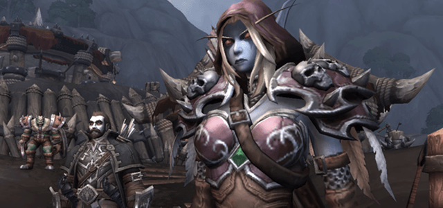 Nathanos is always at the side of Sylvanas Windrunner, former Ranger-General of Quel'Thalas and now Warchief of the Horde.
