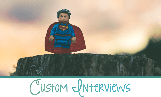 Custom Interviews for Entertainment Professions