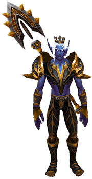The Rat King Transmog Set - Front View Sheathed