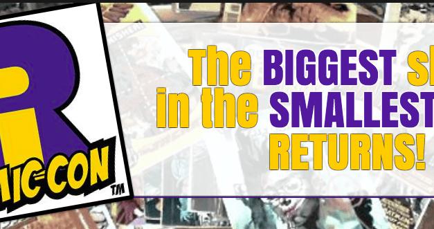 Fan Perspective: Rhode Island Comic Con (RICC) 2015