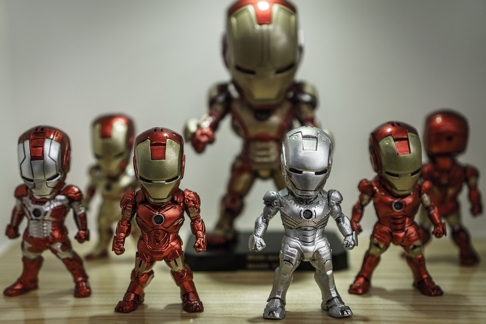 Decorate with Iron Man