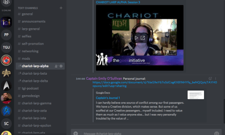 CHARIOT LARP: Player Communication, New Runs, Custom Runs