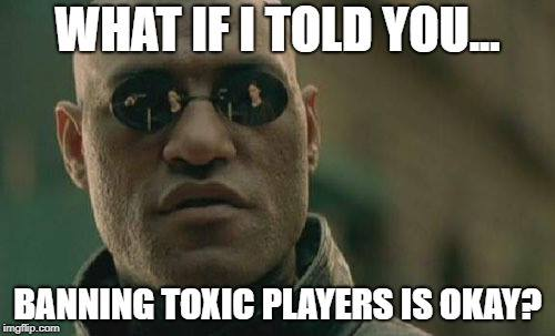 banning players