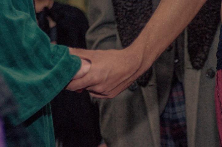 Cernunnos takes Moira's hand