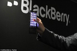 Blackberry curved Venice smartphone
