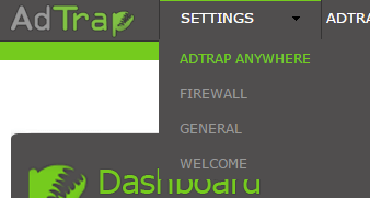 AdTrap Settings