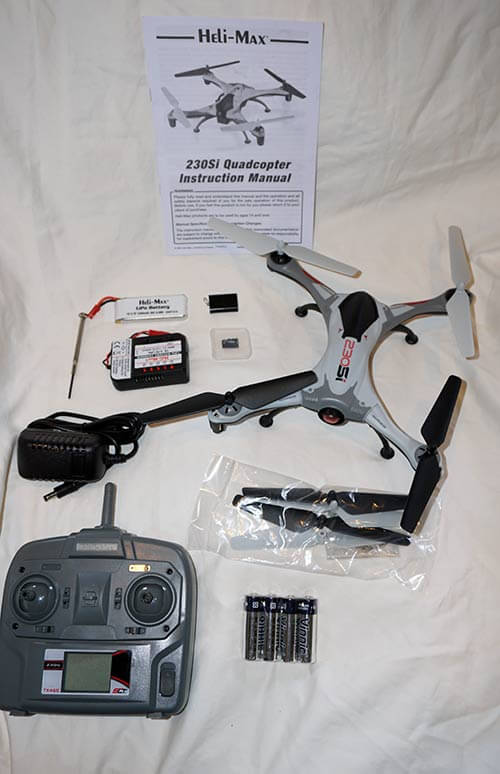 Heli-Max 230SI What You Get