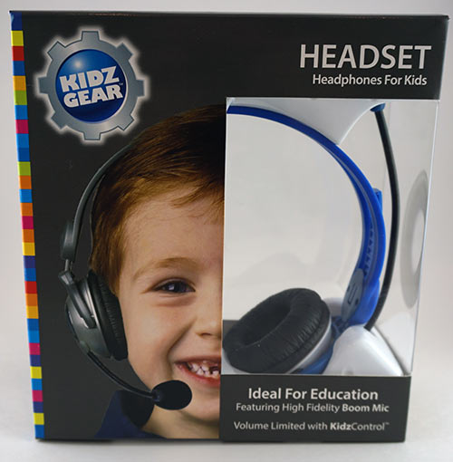 Kidz Gear Blue Headset