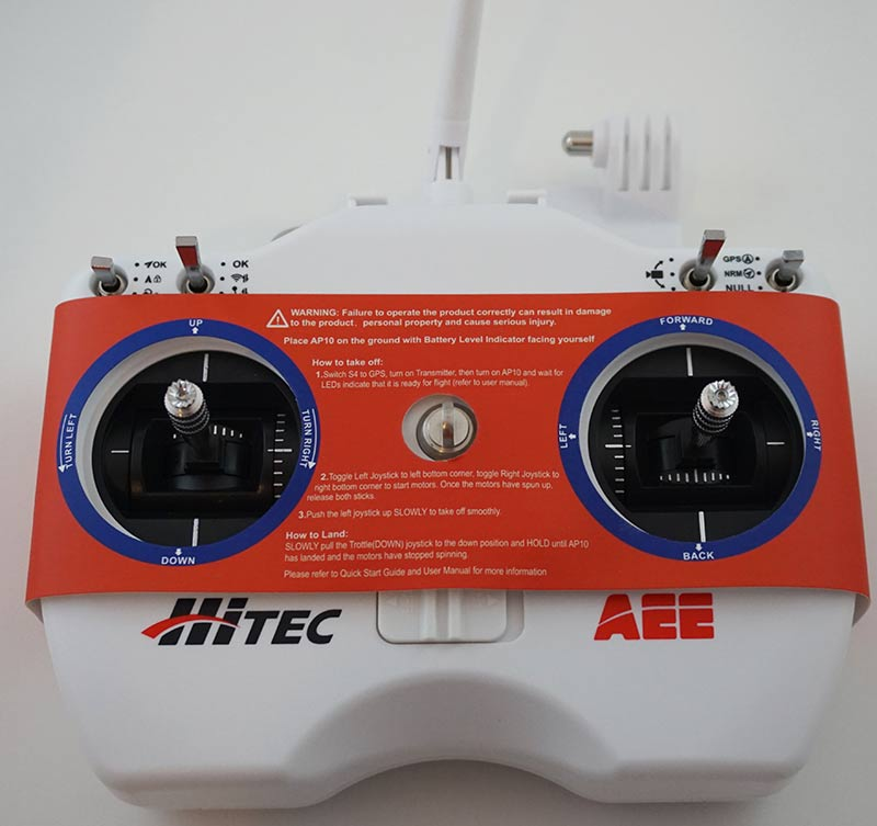 hitec_qcop450_remote_controller_with_cover