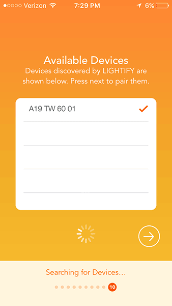 OSRAM LIGHTIFY - Connect Devices